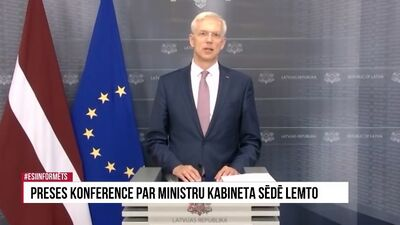 Speciālizlaidums: preses konference par Ministru kabineta sēdē lemto