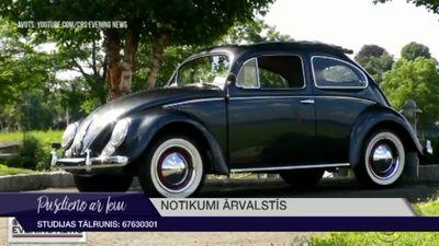 """Volkswagen pārtrauc """"Beetle"""" ražošanu"""