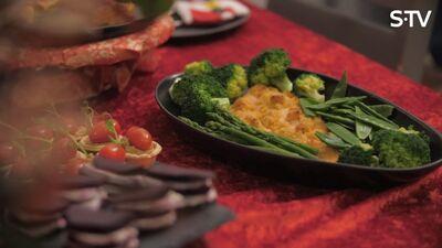 Ideja gatavošanai kopā ar visu ģimeni - svētku foreles filejas un mini picu receptes
