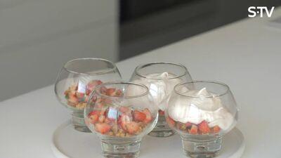 Vienkārša recepte - gaisīgs rabarberu muss