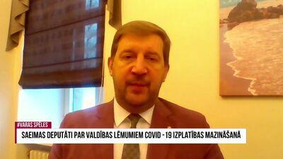 Andrejs Klementjevs: Ministru kabinetā ir vājš līderis