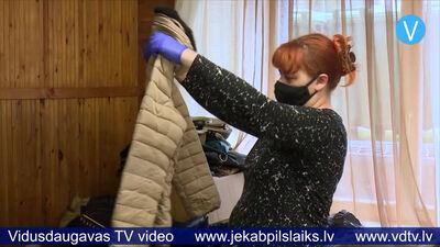 Līvānos negaidīti liela atsaucība apģērbu un tekstila nodošanas akcijā