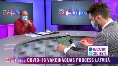 Šics: Tā ir «Oribalt» firmas sabotāža pret vakcinācijas procesu Latvijā