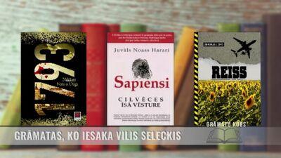Grāmatas, ko iesaka Vilis Seleckis