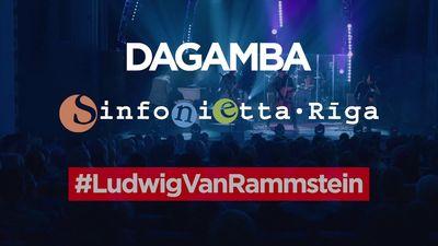 """Jau šodien - """"Dagamba"""" koncerts Dzintaru koncertzālē"""