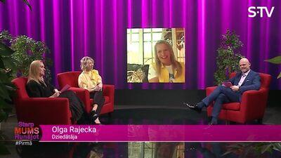 Olga Rajecka stāsta par mājas darbiem un pienākumiem
