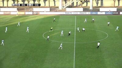 """""""Riga"""" Daugavas stadionā atzīst Maltas """"Hibernians"""" pārākumu"""