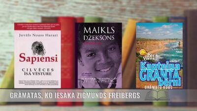 Grāmatas, ko iesaka Zigmunds Freibergs