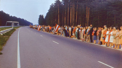 """Baltijas ceļš iekļauts UNESCO """"Pasaules atmiņa"""" sarakstā"""