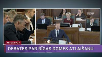 Speciālizlaidums: Saeima galīgajā lasījumā lemj par Rīgas domes atlaišanu 4. daļa