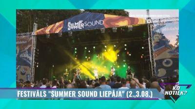 """Festivāls """"Summer Sound 2019"""" Liepājā"""