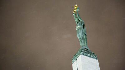 Valdis Zatlers par Brīvības pieminekļa izgaismošanu