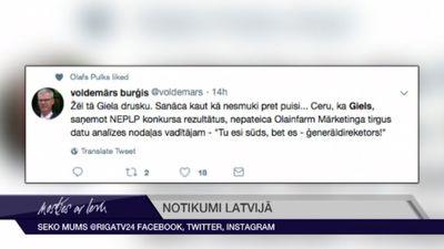 Tvītotāji par LTV valdes locekļu kandidātu atkāpšanos