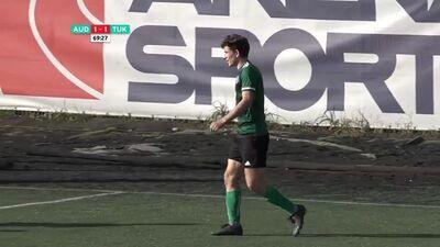 Optibet Nākotnes līga futbolā: FK Auda - FK Tukums 2000/TSS. Spēles ieraksts