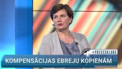 Viņķele komentē likumprojektu, kas 10 gadu laikā paredz ebreju kopienai izmaksāt 40 miljonu eiro