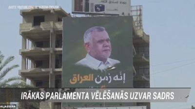 Irākas parlamenta vēlēšanās uzvar Sadrs