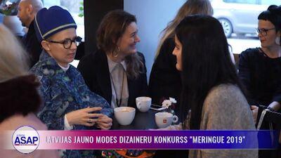 """Latvijas jauno modes dizaineru konkurss """"Meringue 2019"""""""