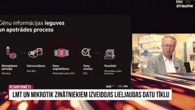 Speciālizlaidums: LMT un Mikrotik zinātniekiem izveidojis lieljaudas datu tīklu