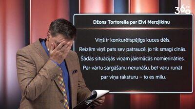 Tortorella: Merzļikins ir konkurētspējīgs kuces dēls