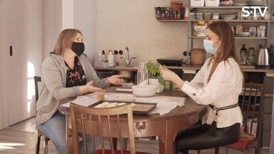 Dagmāra un Diāna Zande cep pīrāgus: kas sanāks?