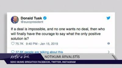 Donalds Tusks dod mājienu, ka Lielbritānijai jāpaliek ES