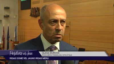 Burovs atkāpjas no Rīgas vicemēra amata