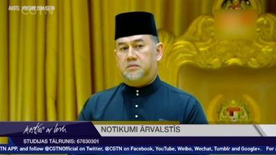 Malaizijas karalis atkāpies no troņa