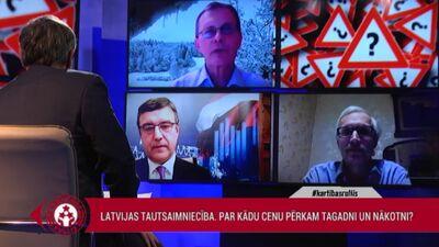 Vilks: Daudzās lietās mums Latvijā ir izlēmības un fokusa trūkums