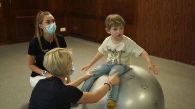 Bērna valodas spēju attīstīšana caur fizioterapiju