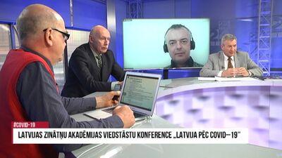 """Latvijas Zinātņu akadēmijas viedstāstu konference """"Latvija pēc Covid-19"""" 2. daļa"""