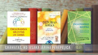 Grāmatas, ko iesaka Jarina Perepeļica