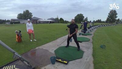 Iemācies spēlēt golfu kopā ar Raivi Vidzi!