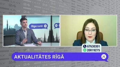 Linda Ozola par graustu problēmu Rīgā