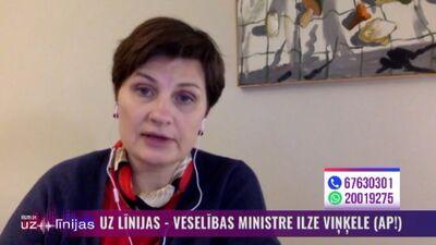Vai veselības ministre plāno vakcinēties pret Covid-19?