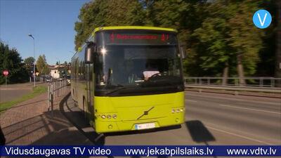 Jaunie Jēkabpils autobusu maršruti atvieglo nokļūšanu uz pilsētai tuvākajiem ciematiem