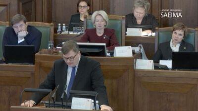 Speciālizlaidums: Saeima galīgajā lasījumā lemj par Rīgas domes atlaišanu 3. daļa