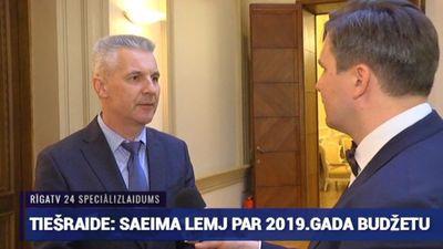 Speciālizlaidums: Saeima lemj par 2019. gada valsts budžetu 10. daļa