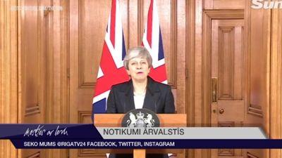 """Meja lūdz atlikt """"Brexit"""" līdz 30. jūnijam"""