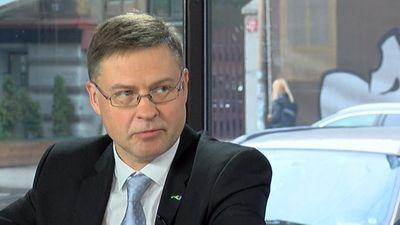 Dombrovskis: Esam atgriezušies Latvijas politiskās dzīves centrā