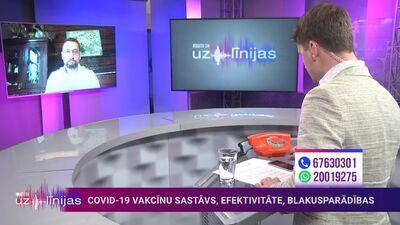 Dzalbs: Latvijā nav ziņu par gadījumiem ar trombu veidošanos pēc vakcinācijas