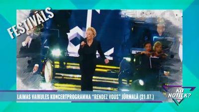 """Laimas Vaikules koncertprogramma """"Randez Vous"""" Jūrmalā"""
