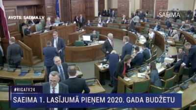 Speciālizlaidums: Saeima lemj par 2020. gada budžetu  3. daļa