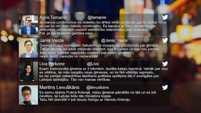 Tvitersāga: Ģimene Latvijā