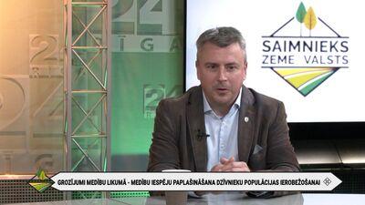 Jānis Baumanis par grozījumiem medību likumā