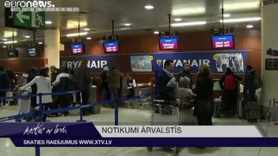 """""""Ryanair"""" sola streikot arī Spānijas lidostās"""