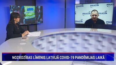 Kāds ir noziedzības līmenis Latvijā Covid-19 pandēmijas laikā?