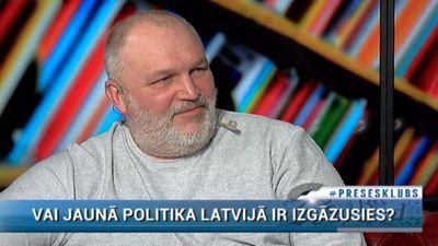 """Upacieris atvainojas par piedalīšanos """"KPV LV"""" veidošanā"""