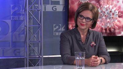 Infektoloģe Angelika Krūmiņa atbalsta plašāku sejas masku lietošanu sabiedriskās vietās