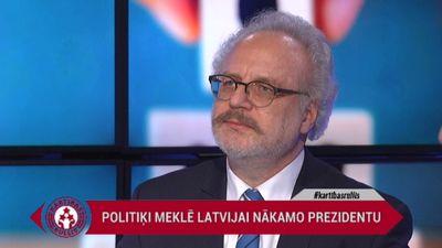 Egils Levits par savu kandidatūru prezidenta amatam