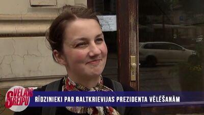 Rīdzinieki par Baltkrievijas prezidenta vēlēšanām